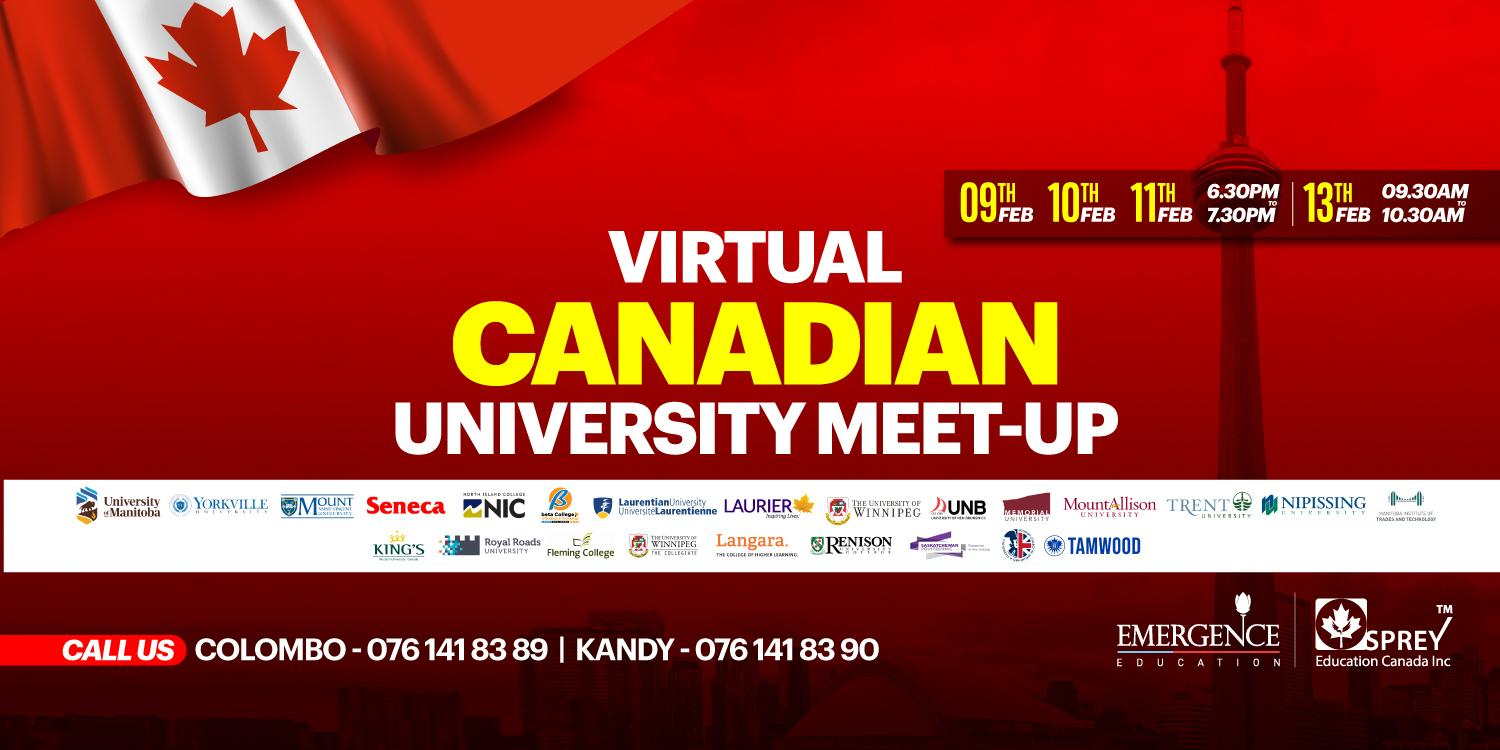 Virtual Canadian University Meet-Up
