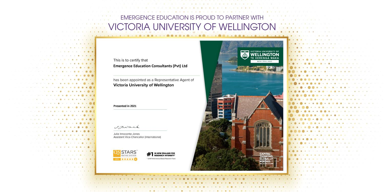Victoria University of Wellington in New Zealand