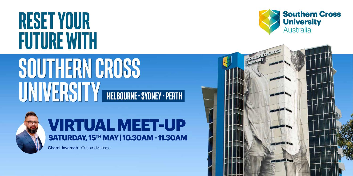 virtual meet-up with Southern Cross University