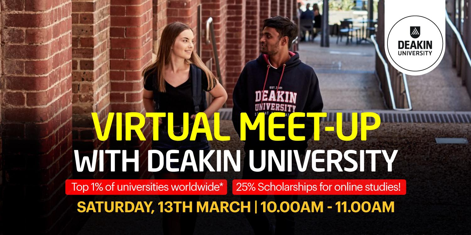Virtual Meet-up with Deakin University